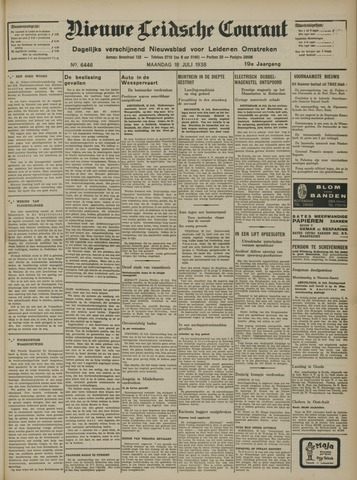 Nieuwe Leidsche Courant 1938-07-18