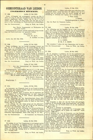 Handelingen van de Raad 1912-05-21