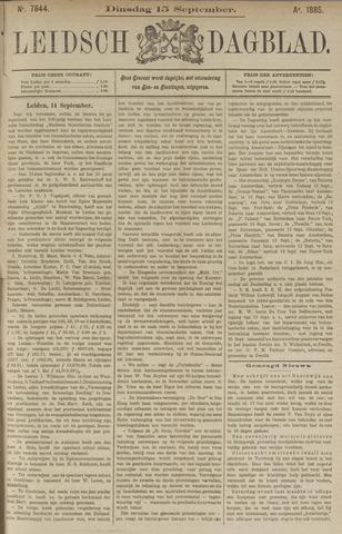 Leidsch Dagblad 1885-09-15