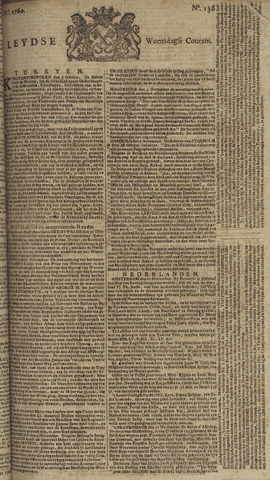 Leydse Courant 1760-11-12