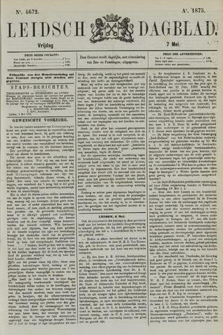 Leidsch Dagblad 1875-05-07