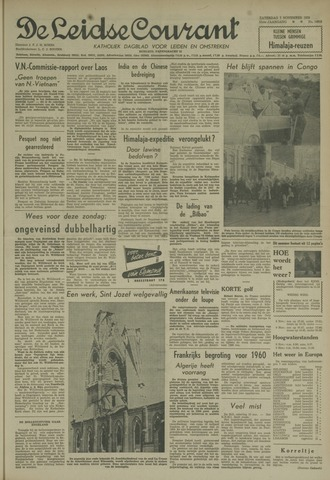 Leidse Courant 1959-11-07