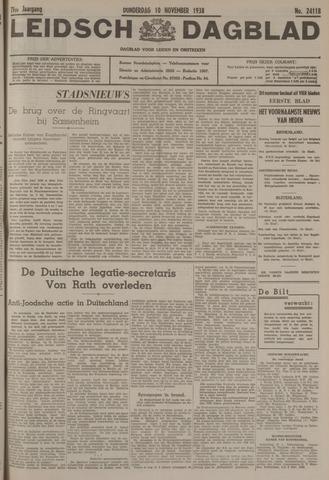 Leidsch Dagblad 1938-11-10