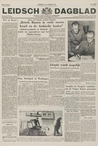 Leidsch Dagblad 1956-01-25