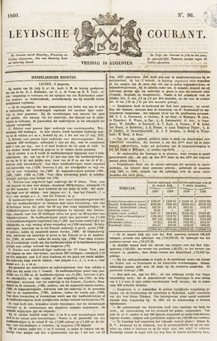 Leydse Courant 1860-08-10