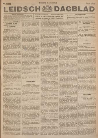 Leidsch Dagblad 1926-08-03