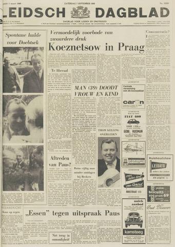Leidsch Dagblad 1968-09-07
