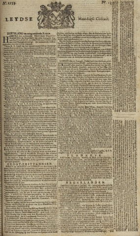Leydse Courant 1759-01-29
