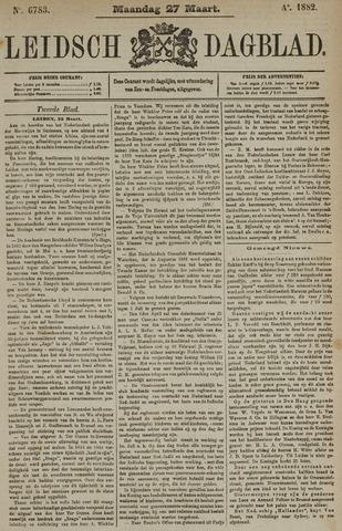 Leidsch Dagblad 1882-03-27