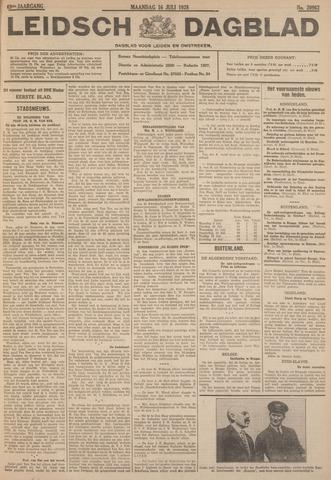 Leidsch Dagblad 1928-07-16