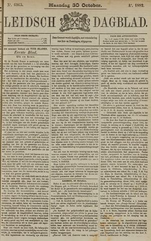 Leidsch Dagblad 1882-10-30