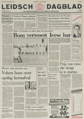 Leidsch Dagblad 1982-12-07