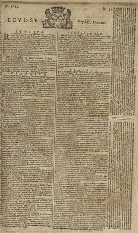 Leydse Courant 1754-03-15