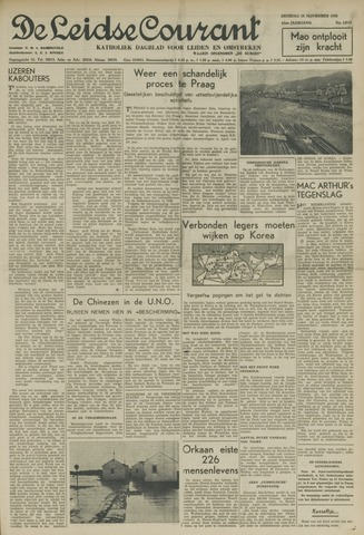 Leidse Courant 1950-11-28
