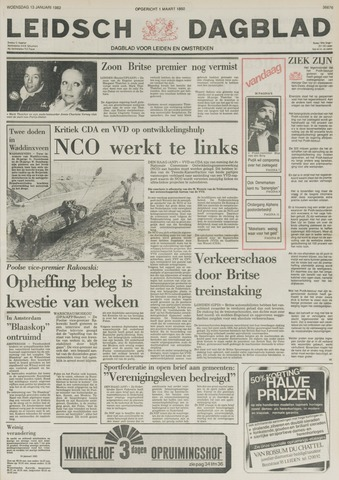 Leidsch Dagblad 1982-01-13