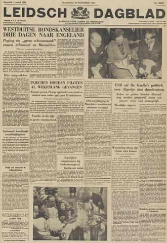 Leidsch Dagblad 1959-11-16