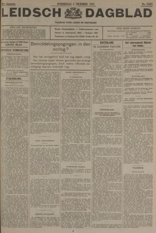 Leidsch Dagblad 1935-12-05