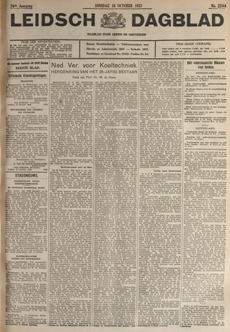 Leidsch Dagblad 1933-10-10