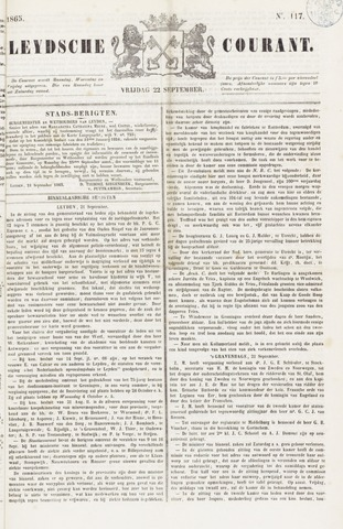 Leydse Courant 1865-09-22