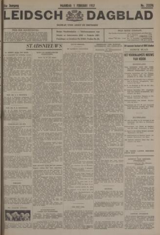 Leidsch Dagblad 1937-02-01