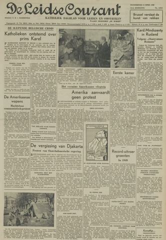 Leidse Courant 1950-04-13