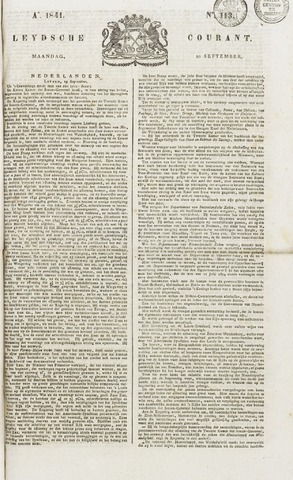 Leydse Courant 1841-09-20