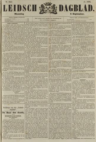 Leidsch Dagblad 1870-09-05