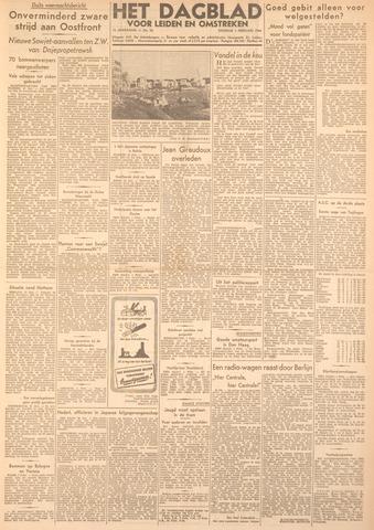 Dagblad voor Leiden en Omstreken 1944-02-01
