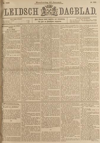 Leidsch Dagblad 1899-01-12