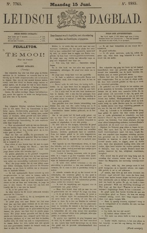 Leidsch Dagblad 1885-06-15