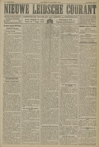 Nieuwe Leidsche Courant 1927-10-31