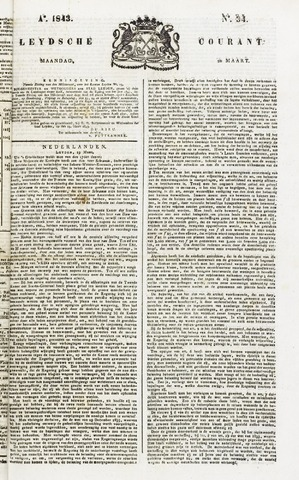 Leydse Courant 1843-03-20