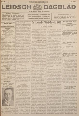Leidsch Dagblad 1930-09-24