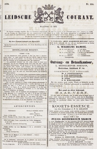 Leydse Courant 1876-05-15