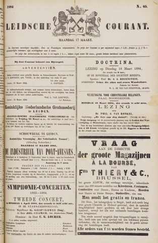 Leydse Courant 1884-03-17