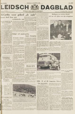 Leidsch Dagblad 1954-08-06