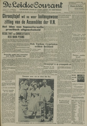 Leidse Courant 1958-08-06