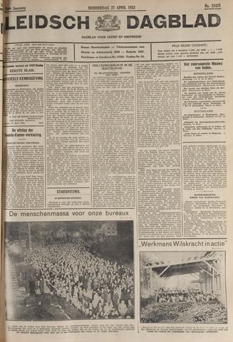Leidsch Dagblad 1933-04-27
