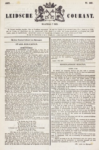 Leydse Courant 1877-05-07
