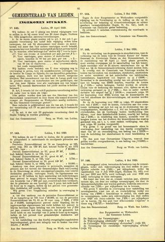 Handelingen van de Raad 1920-04-29