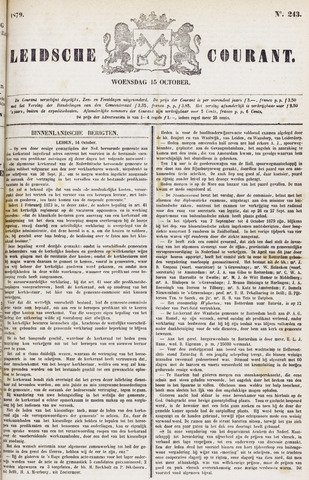 Leydse Courant 1879-10-15
