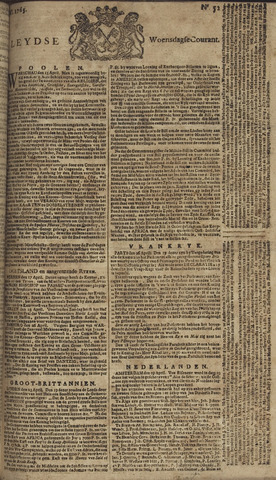 Leydse Courant 1765-05-01