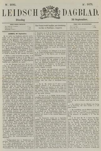 Leidsch Dagblad 1873-09-30