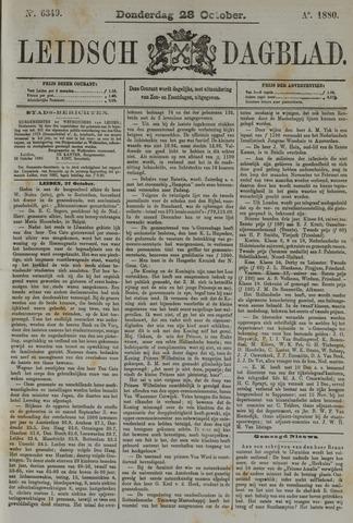 Leidsch Dagblad 1880-10-28