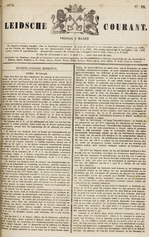 Leydse Courant 1872-03-01