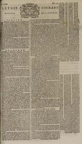 Leydse Courant 1790-09-22