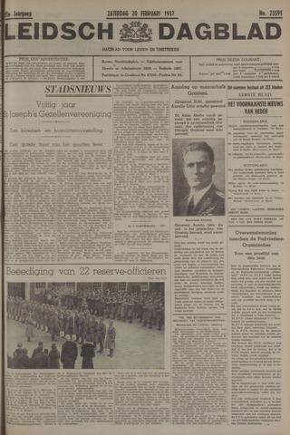 Leidsch Dagblad 1937-02-20