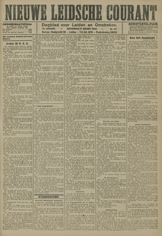 Nieuwe Leidsche Courant 1923-03-17