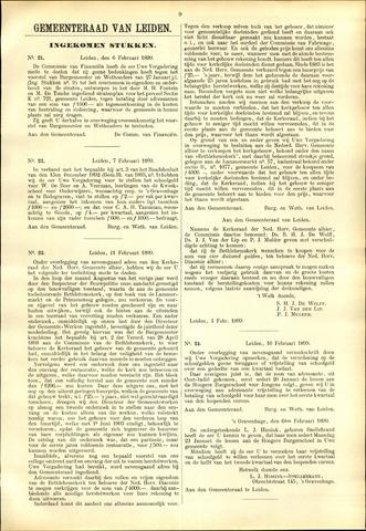 Handelingen van de Raad 1899-02-06