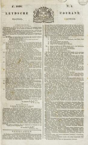 Leydse Courant 1838